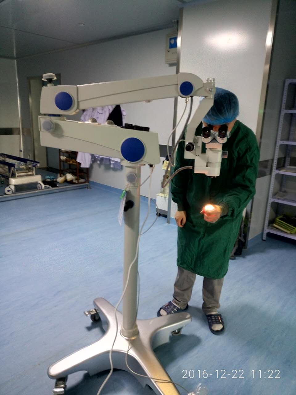 河北宽城某医院-骨科手术显微镜